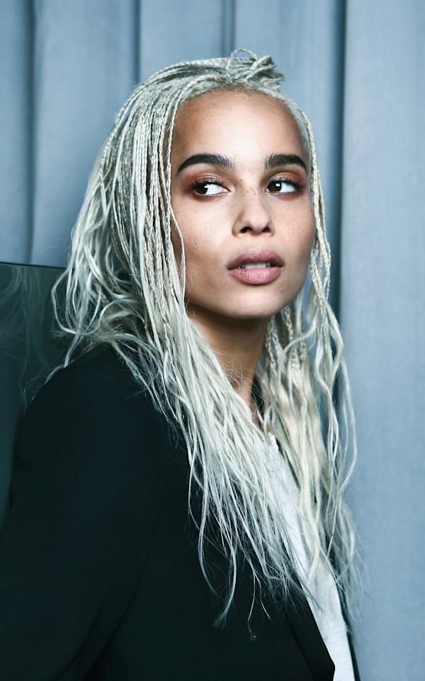 Zoe Kravitz: 'Beauty can't be defined by race, gender or age'