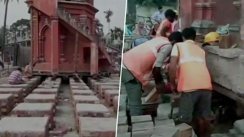 Assam: 2-Storeyed Minaret of 100-Year-Old Mosque Being Shifted Without Dismantling to Ease Highway Construction