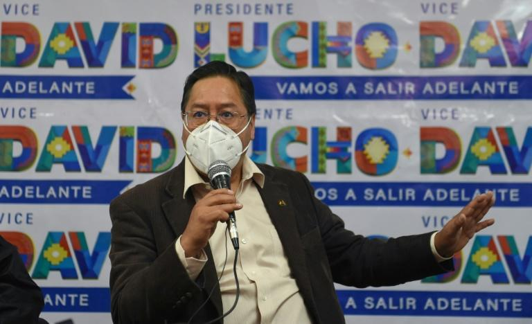 Leftist candidate Luis Arce, a former economy minister, holds a clear opinion poll lead heading into the October 18, 2020 presidential election in Bolivia