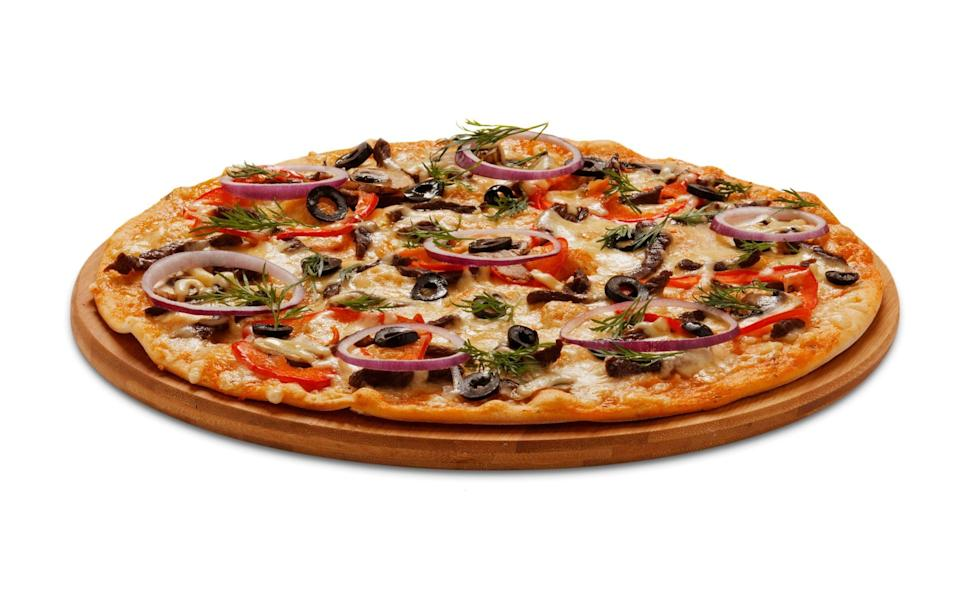 A pizza, one of the products the Dr Oetker brand is best known for - iStockphoto