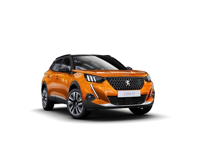 Photos of the 2020 Peugeot 2008 SUV
