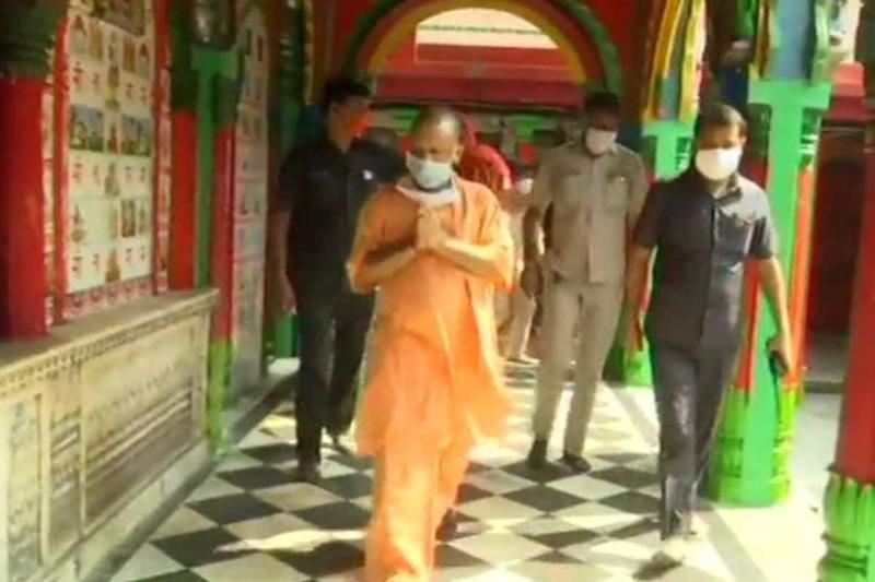 Adityanath to Visit Ayodhya Today to Take Stock of Preparations for Ram Temple Ceremony on Aug 5