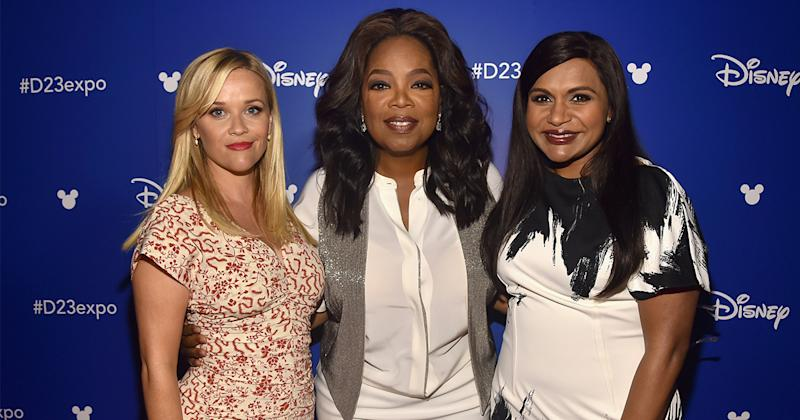 "Mindy Kaling was blown away by how generous Reese Witherspoon and Oprah were on the set of ""A Wrinkle in Time"""