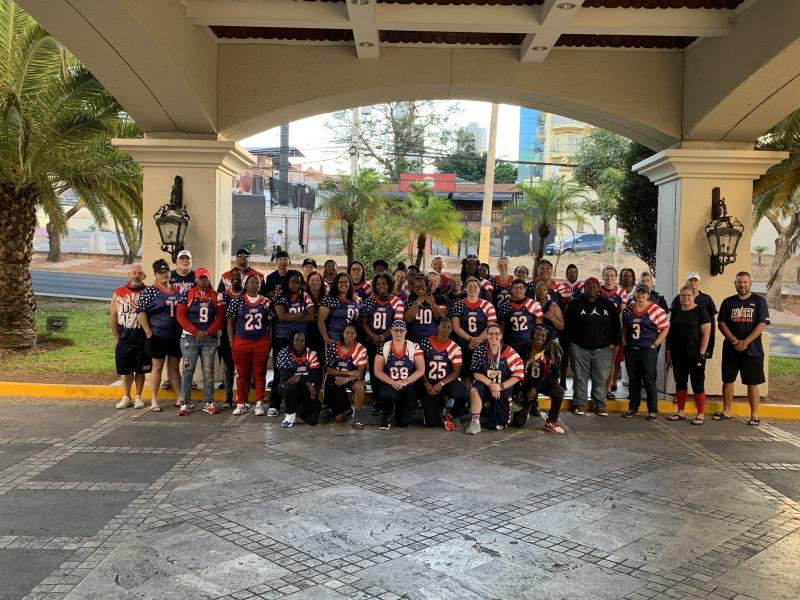 Team USA spent four extra days at a hotel in Honduras before being evacuated. (Courtesy of AFE)