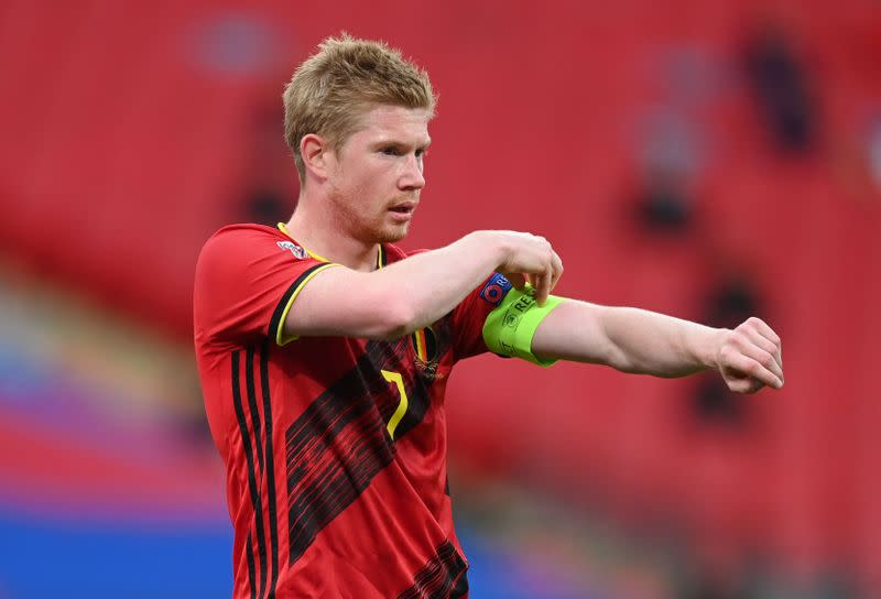 De Bruyne pulls out of Belgium squad with unspecified injury
