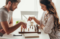 <p>'My boyfriend and I started out dating long distance and had been together for about six months when I saw a post by Jessica Biel on Instagram of her and Justin Timberlake playing board games. I thought it was so cute,' says Sajel S. </p><p>'We decided to download Words With Friends and have had a blast playing it together while dating long-distance. I knew he was well-read, but damn he schooled me unexpectedly with his vocabulary.'</p>