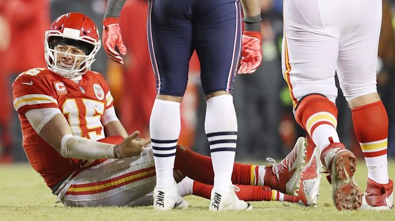 The Chiefs ended Patrick Mahomes' basketball career after seeing viral video