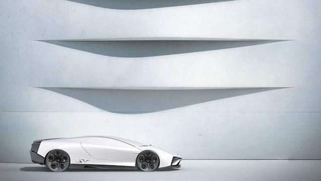 The student-design concept would look lovely in the supercar lineup.