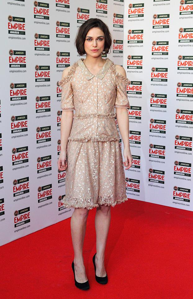 We're not entirely sure what to say about Keira Knightley's Rodarte dress at the 2011 Empire Awards, but we do know it's not good.