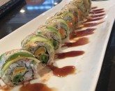 """<p>The good thing about vegetarian sushi is you don't even need to get your hands on any fresh fish. Check out Brand New Vegan for a <a href=""""http://www.brandnewvegan.com/recipes/homemade-vegan-sushi-rolls"""" rel=""""nofollow noopener"""" target=""""_blank"""" data-ylk=""""slk:step-by-step guide on how to make your own vegan sushi rolls"""" class=""""link rapid-noclick-resp"""">step-by-step guide on how to make your own vegan sushi rolls</a>. [Photo: Instagram/eye.pop.arrt] </p>"""