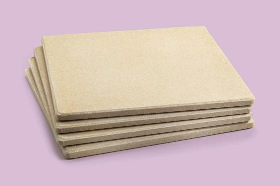 Outset 76176 Pizza Grill Stone Tiles Set of 4