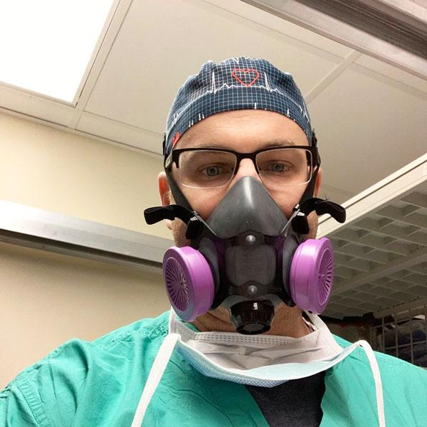 An Anesthesiologist And Father Gives The Low Down To Help You Bear Down: man with. mask on