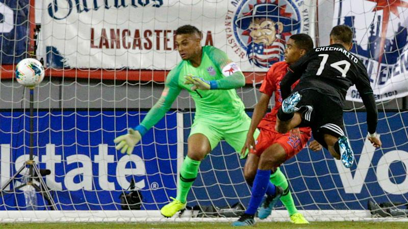 Weston McKennie scores record hat-trick as United States of America  hammer seven past Cuba