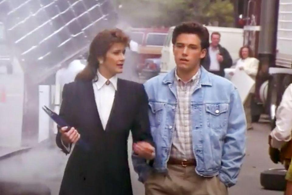 <p>Back in 1991, a much younger Ben Affleck starred in <em>Daddy</em>, a movie about a family going through some tough times when the mom leaves the dad to find herself. Affleck plays their teenage son Ben, who's kind of stuck in the middle of everything.</p>