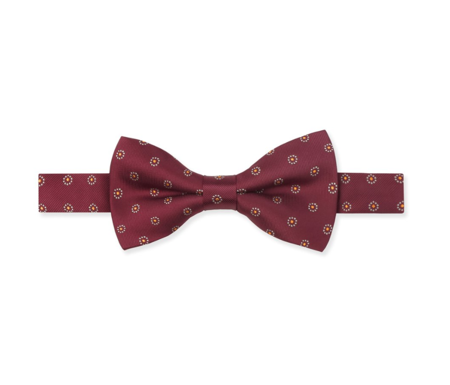 <p>If you prefer a bow tie, homegrown brand Benjamin Barker has one with a floral motif. (Photo: Benjamin Barker) </p>