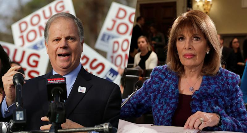 Doug Jones, Jackie Speier