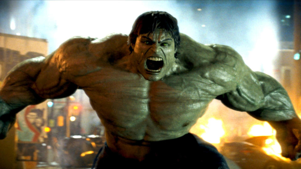 Edward Norton played the title role in 'The Incredible Hulk'. (Credit: Universal)