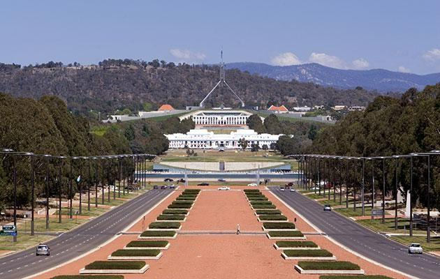 We went on a weekend trip to Canberra with the dog. Photo: Getty
