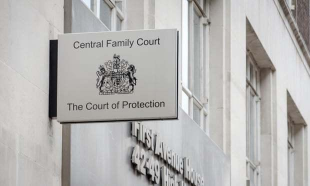 The case was heard at the Court of Protection in London