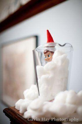 OK, this one may be a part of a holiday decoration, but imagine putting this in your bathroom? No thanks.