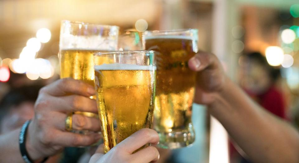 The UK-based company is developing a drug that mimics the stimulating part of alcohol. [Photo: Getty]