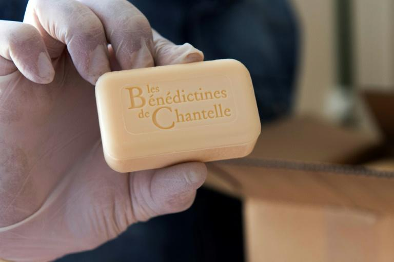 Soaps, body lotions andshower gels are among the products made at the Saint-Vincent abbey in Chantelle