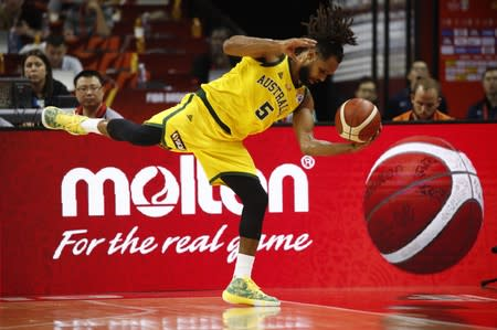 FILE PHOTO: Basketball - FIBA World Cup - Second Round - Group L - Australia v Dominican Republic