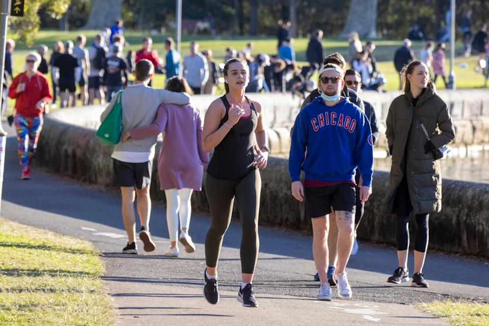 Sydneysiders could be facing a prolonged period of restrictions, experts warn. Source: Getty