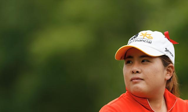 PITTSFORD, NY - JUNE 08: Inbee Park of South Korea waits on the second tee during the weather-delayed second round of the Wegmans LPGA Championship at Locust Hill Country Club on June 8, 2013 in Pittsford, New York. (Photo by Scott Halleran/Getty Images)