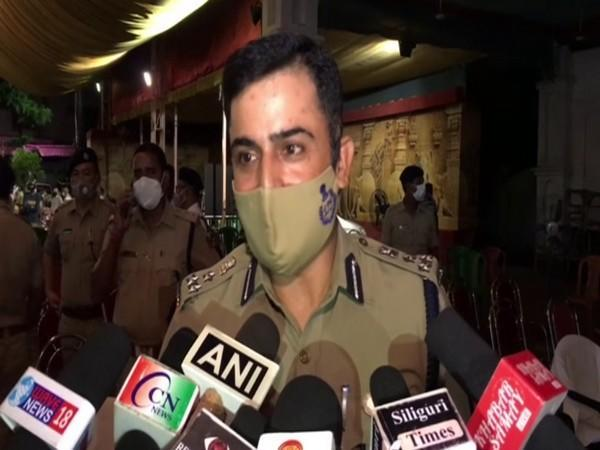 Gourav Sharma, Commissioner of Police, SMP (Photo/ANI)