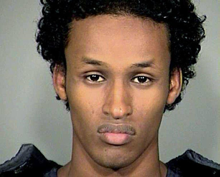 This police booking photo shows convicted Somali-American Mohamed Mohamud, arrested November 26, 2010, Portland, Oregon