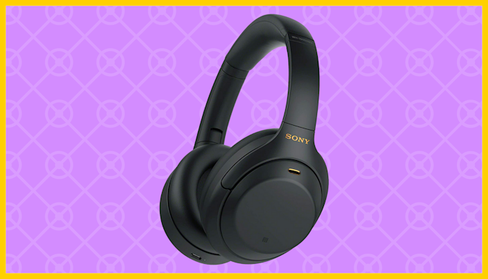 Only $278 for these Sony WH-1000XM4 Wireless Noise Canceling Headphones! (Photo: Amazon)