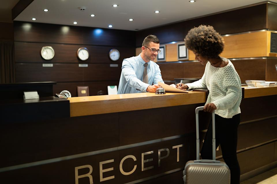 It may feel counterintuitive, but the key to getting a good rate is often waiting until the last minute to book a hotel room. (Photo: valentinrussanov via Getty Images)