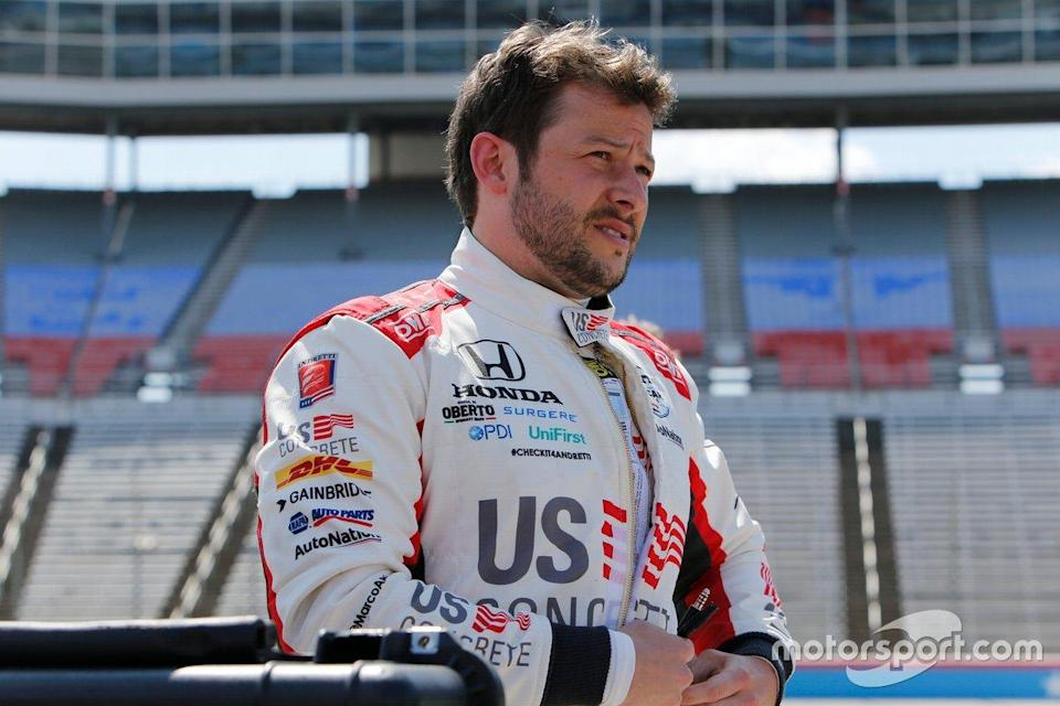 """Marco Andretti ?<span class=""""copyright"""">IndyCar </span>"""