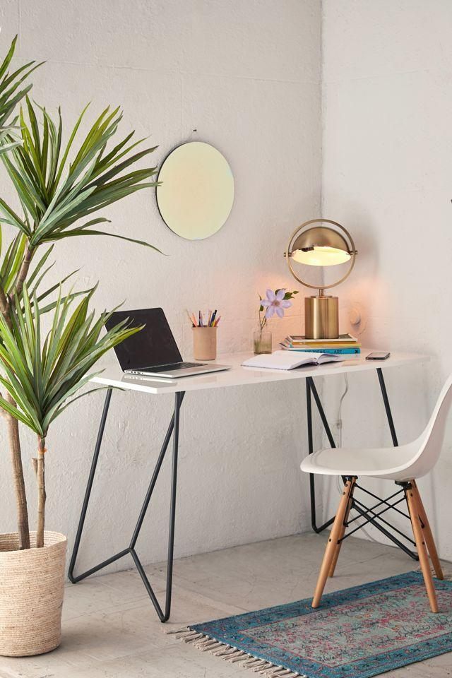 "<br><br><strong>Urban Outfitters</strong> Metal Tubing Desk, $, available at <a href=""https://go.skimresources.com/?id=30283X879131&url=https%3A%2F%2Fwww.urbanoutfitters.com%2Fshop%2Fmetal-tubing-desk"" rel=""nofollow noopener"" target=""_blank"" data-ylk=""slk:Urban Outfitters"" class=""link rapid-noclick-resp"">Urban Outfitters</a>"