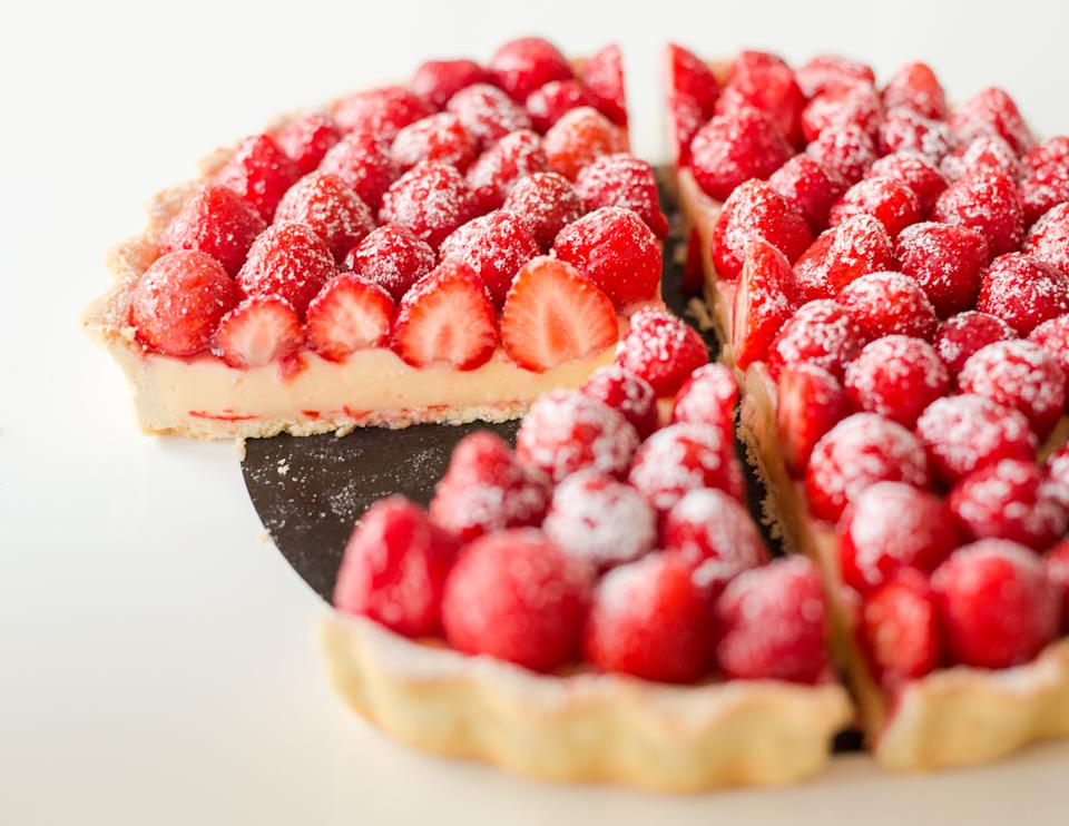 Strawberry tart (Getty)