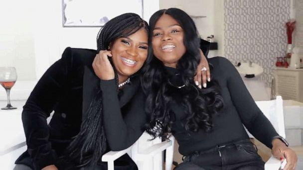 PHOTO: Latoya Wimberly and Ashley Thomas were best friends for 17 years before discovering they share the same dad. (WPVI)