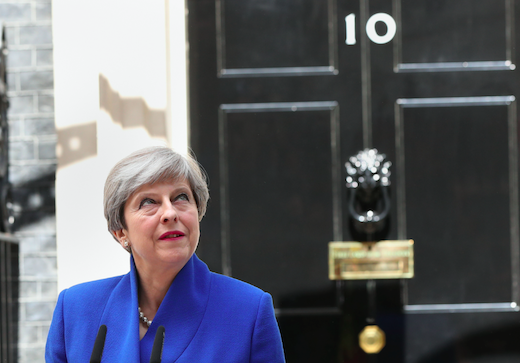 Will Theresa May soon follow her advisors out the door of Number 10? (Picture: PA)