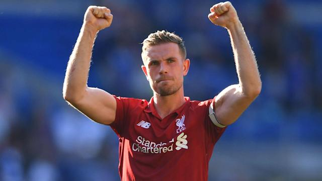 Liverpool may have to settle for second place this season, but Jordan Henderson thinks they are on the right track.