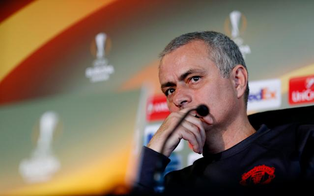 <span>Jose Mourinho is prioritising the Europa League over the Premier League</span> <span>Credit: Reuters </span>