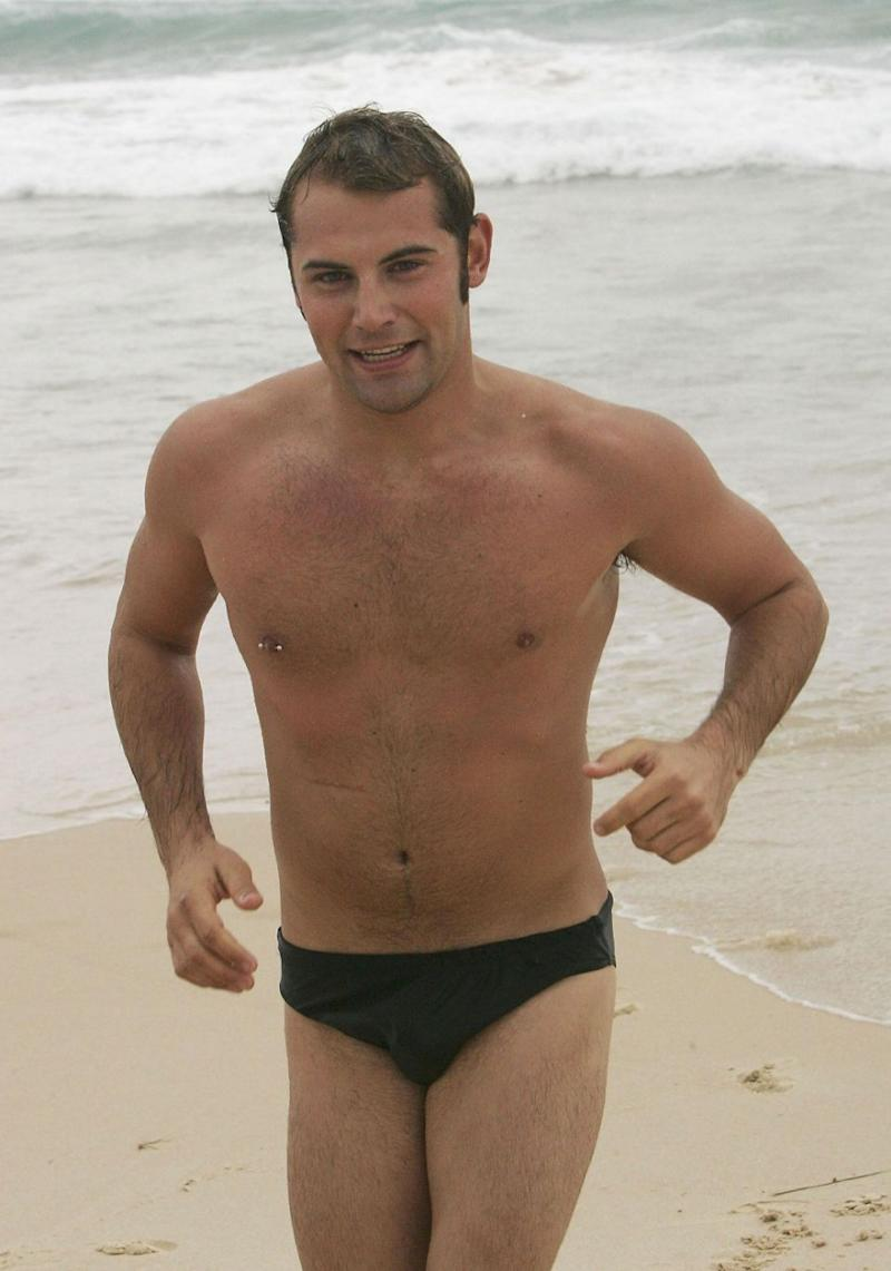 Dan looking quite confident with his body in 2005. Source: Getty