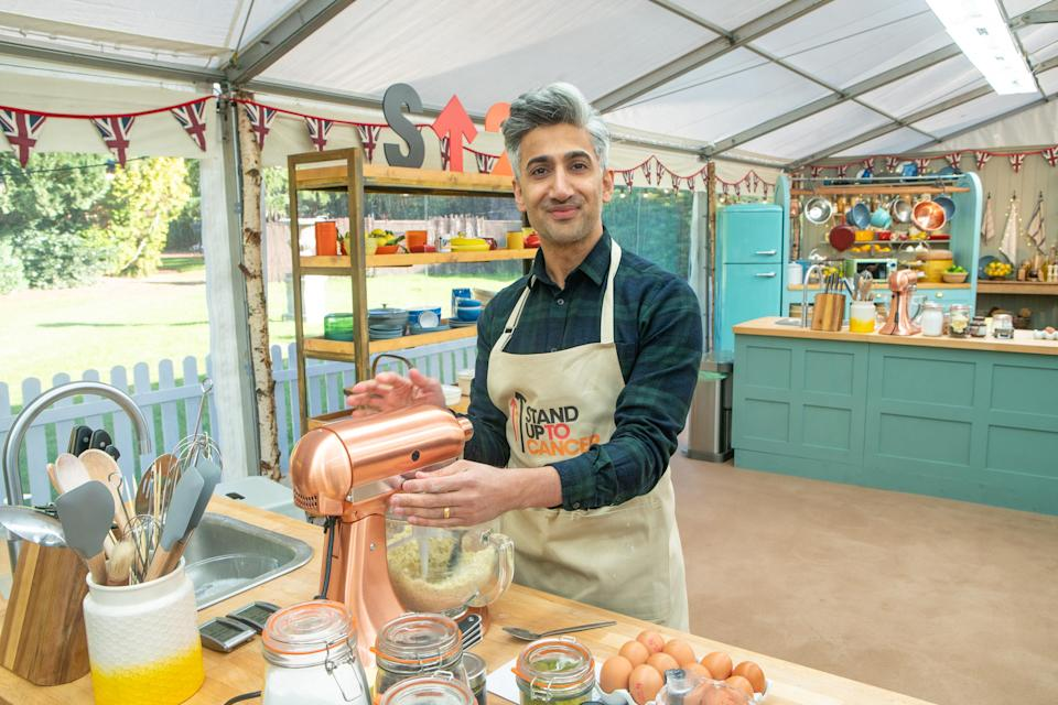 Tan France won 'The Great Stand Up To Cancer Bake Off' (Channel 4/Mark Bourdillon)