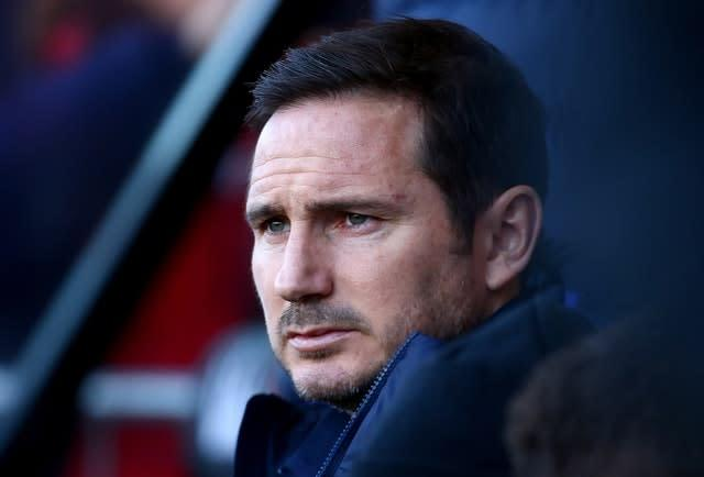 Chelsea boss Frank Lampard, pictured, will oversee a freshening up of the Blues squad at the end of the season (Mark Kerton/PA)
