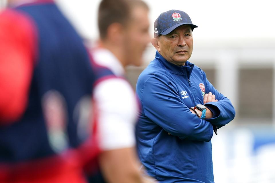Eddie Jones wants to build a pack capable of challenging for the World Cup