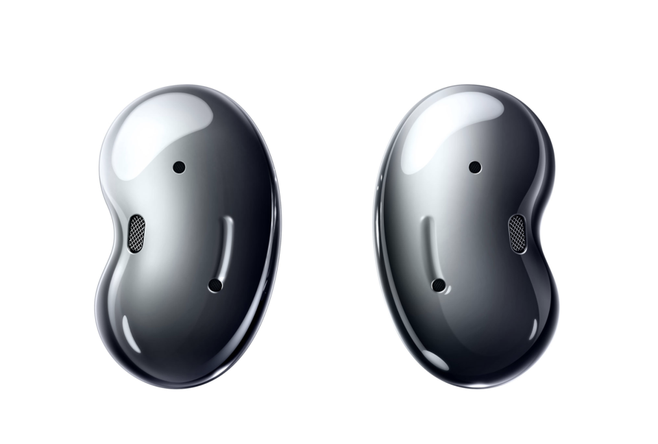 Samsung Galaxy Buds Live In-Ear Noise Cancelling Headphones. Image via Best Buy.