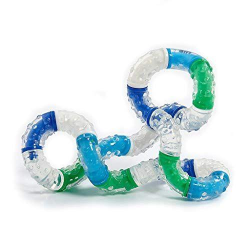 """<p><strong>Tangle Creations</strong></p><p>amazon.com</p><p><strong>$14.24</strong></p><p><a href=""""https://www.amazon.com/dp/B001EWC5M4?tag=syn-yahoo-20&ascsubtag=%5Bartid%7C10055.g.34935171%5Bsrc%7Cyahoo-us"""" rel=""""nofollow noopener"""" target=""""_blank"""" data-ylk=""""slk:Shop Now"""" class=""""link rapid-noclick-resp"""">Shop Now</a></p><p>Fans love the rubbery texture of this twisty toy that can be manipulated and shaped while keeping anxious hands occupied for hours.</p>"""