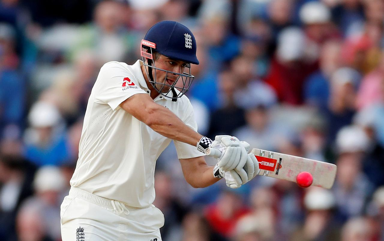 Cricket - England vs West Indies - First Test - Birmingham, Britain - August 18, 2017   England's Alastair Cook in action   Action Images via Reuters/Paul Childs     TPX IMAGES OF THE DAY