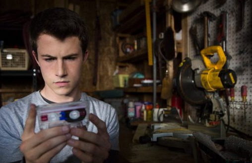 Clay Jensen is given the tapes to listen to after Hannah's suicide. Photo: Netflix