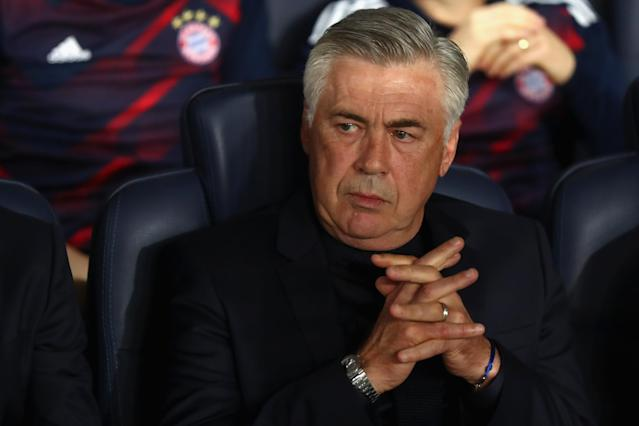 Bayern Munich has sacked Carlo Ancelotti. (Getty)