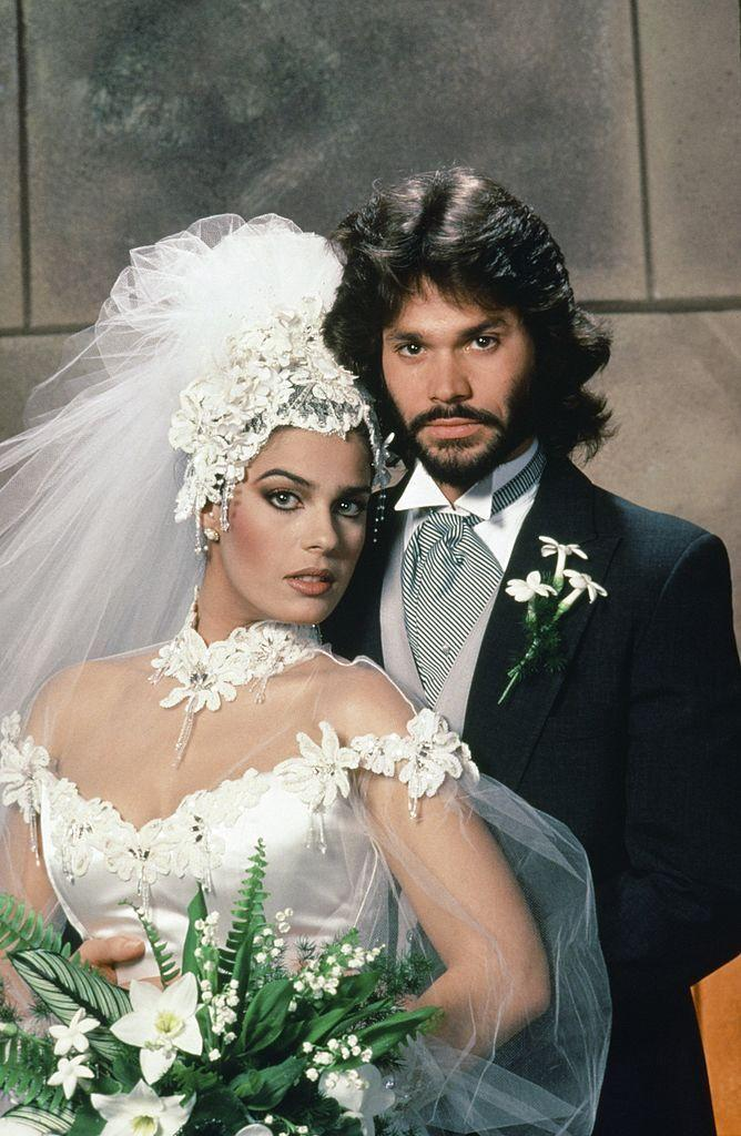 "<p>After taking a look at the getup actress Kristian-Joy Alfonso wore for her character Hope's (first!) wedding to Peter Reckell's Bo Brady on the soap opera <em>Days of Our Lives</em> in 1985, there's no question as to why the '80s were known as ""The Decade of Excess.""</p>"